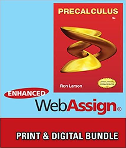 Bundle: Precalculus, 9th + Enhanced WebAssign Printed Access Card ...