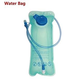 Unmengii 2L Fashion Environmentally Folding Mouth Suction Bladder Hydration Packs Water Bag