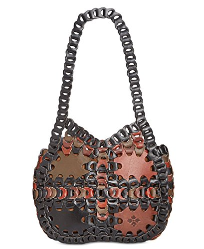 Chocolate Leather Zip Hobo Bag - 6