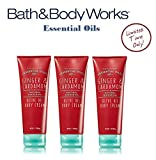 Bath and Body Works GINGER & CARDAMOM Olive Oil Body Cream Lot of 3 Full Size Review