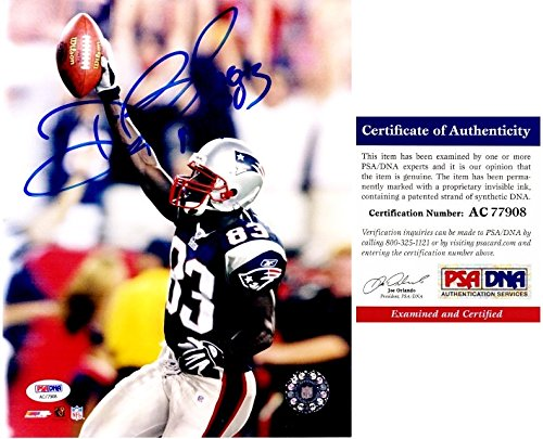 New England Patriots Deion Branch - 7