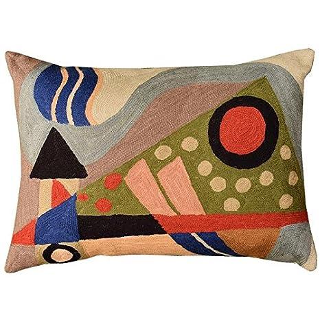 Kashmir Designs Lumbar Kandinsky Composición VII Funda para ...