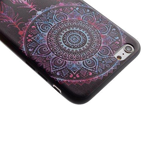 "HYAIT® For IPHONE 6 4.7"" [XXG BLACK V1]Scratch-Proof Ultra Thin Rubber Gel TPU Soft Silicone Bumper Case Cover -BKI09"