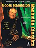 img - for Boots Randolph - Nashville Classics: Music Minus One for Tenor Sax, Alto Sax or Trumpet book / textbook / text book