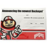 Ohio State Baby Announcment - 10 Pack