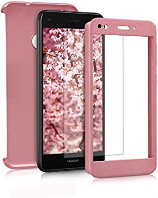 check-out b1dea 012af Amazon.com: kwmobile Cover for Huawei Y6 Pro (2017) / Enjoy ...