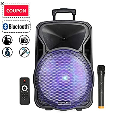 STARQUEEN Portable Bluetooth PA System Speaker