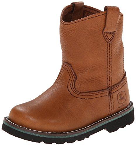 John Deere 1213 Western Boot ,Brown,6.5 M US Toddler