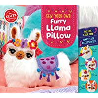Klutz Sew Your Own Furry Llama Pillow Sewing & Craft Kit