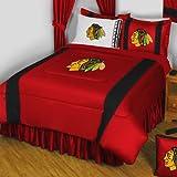 NHL Chicago Blackhawks 5pc Full Hockey Bedding Set