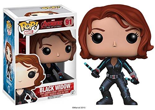 Avengers Age of Ultron Black Widow Pop! Vinyl Bobble Head Figure