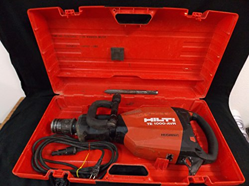 Hilti Demolition Jack Hammer/Breaker with 1 Bit, Part #TE 1000-AVR HI DRIVE