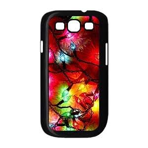 Samsung Galaxy S3 Cases Christmas Light, Samsung Galaxy S3 Cases Christmas, [Black]