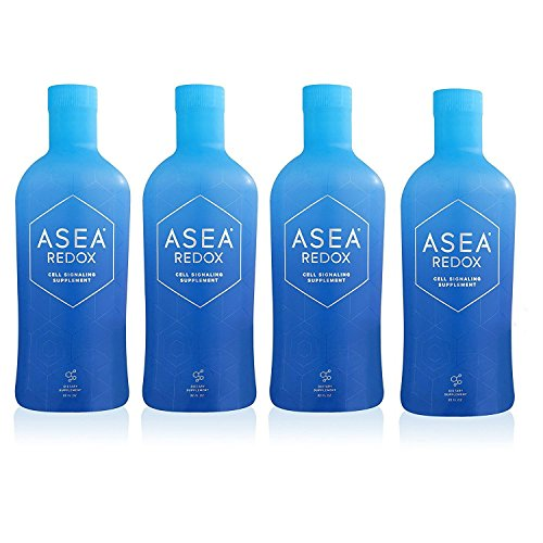 New and Improved Asea Redox Supplement Water – 1 Full Case (4 – 32oz Bottles)