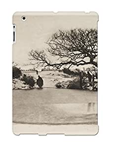 Fireingrass KUR304ywdLP Case Cover Ipad 2/3/4 Protective Case Trees ( Best Gift For Friends)