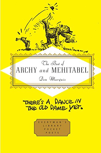 Image of The Best of Archy and Mehitabel (Everyman's Library Pocket Poets Series)