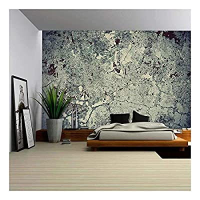 Delightful Creative Design, With a Professional Touch, Grunge Wall Texture Background Paint Cracking Off Dark Wall with Rust Underneath