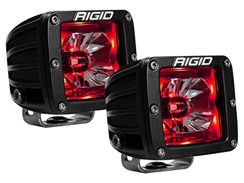 Rigid Industries 20202 Red Backlight, Pair (Radiance LED - Red Pod