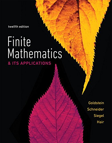 Books : Finite Mathematics & Its Applications (12th Edition)