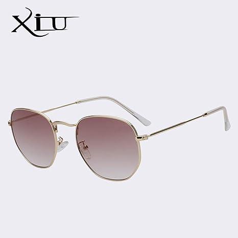 Yangjing-hl Diseñador de la Marca Gafas de Sol cuadradas ...