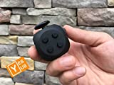 New Generation Fidget Cube 3.0 - Stylish Toy For Anxiety Stress Relief Attention Focus - For Children And Adults - Durable Silicone Buttons - Now It Can Spin - By Yes US