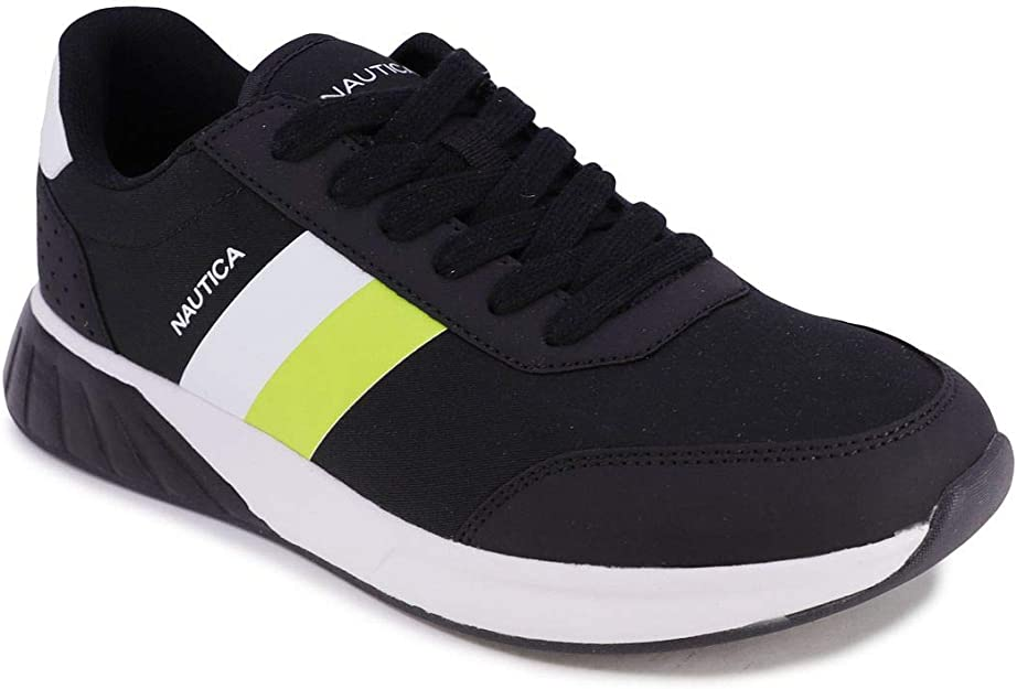 Nautica Mens Lace-Up Casual Fashion Sneakers-Walking Shoes-Lightweight Joggers