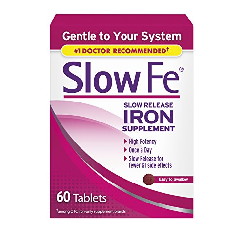 (Slow Fe Slow Release Iron Supplement 60 Tablets (3 Pack))