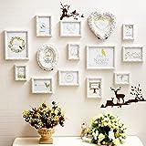 LQQGXL European wall living room bedroom combination wedding photo frame Photo frame