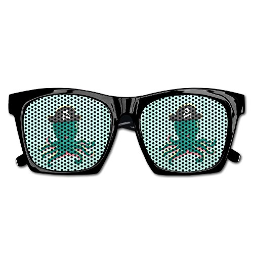 Cherry Park Blue Octopus Pirates Rim Party Sunglasses & - Nz Glasses Hippie