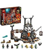 LEGO 71722 NINJAGO Skull Sorcerer's Kerkers 2-in-1 Bouwset en BordSpel met Poppetjes voor Kinderen van 9 Jaar en Ouder