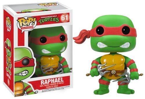 """Raphael: ~3.7"""" Funko POP! TMNT Vinyl Figure"""