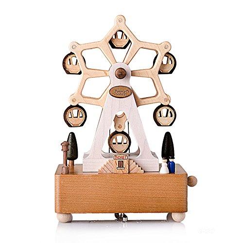 【おまけ付】 bestsunnyデートFerry Wheel Wooden Wooden B01HBJ91OI Wheel Musicalボックス新しいyb001 B01HBJ91OI, 平鹿郡:d299ed87 --- egreensolutions.ca