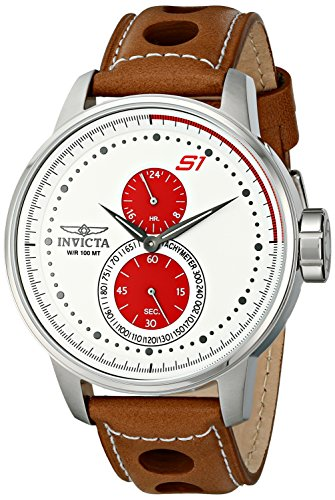 Invicta Men's 16018 S1 Rally Analog Display Japanese Quartz Brown Watch