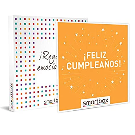 Smartbox ¡ Feliz cumpleaños Caja Regalo, Adultos Unisex ...