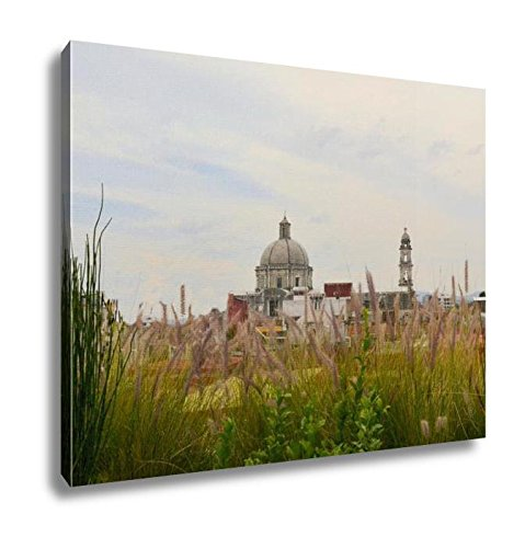 Ashley Canvas Christian Catholic Church In Puebla Mexico, Wall Art Home Decor, Ready to Hang, Color, 16x20, AG5937364 by Ashley Canvas