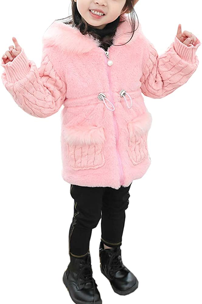 Urtrend Little Girls Baby Toddler Kids Clothes Winter Outerwear Coat Jacket