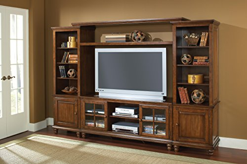 Grand Bay Entertainment Large Wall Unit - Pine price