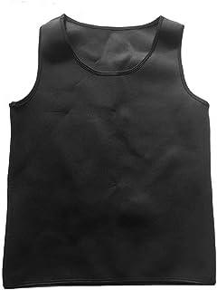 Formulaone Uomo Body Shaped Vest Body Shaper Tuning Pancia Vita Trainer Corsetto Top Confortevole Biancheria Intima Vestiti Shapewear - all Black XL