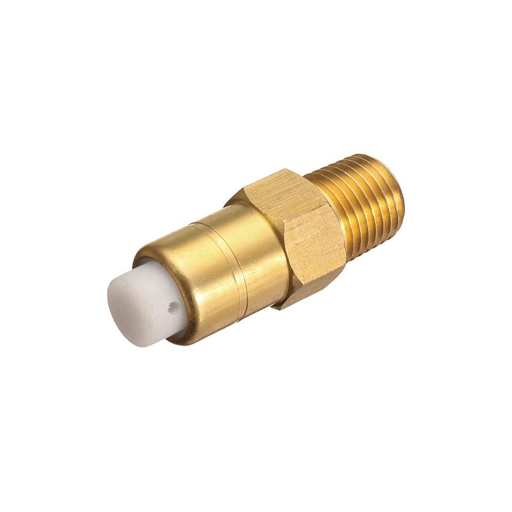 1//4 Inch Thermal Release Safety Relief Brass Valve For Pressure Washer Water Pump