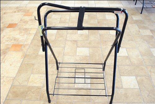 Procraft Folding Saddle Stand Black