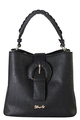 Accented Front Pocket Hobo (Rimen & Co. PU Leather Front Magnet Buckle Mini Hobo with Woven Décor Handle Womens Purse Handbag Accented with Removable Strap KT-3837)