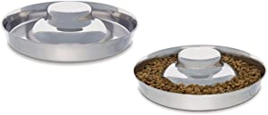 Pro Select Stainless Steel Multi Puppy Pan Litter Feeder Dish Dog Bowl Saucer Choose Size