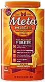 Metamucil Smooth Texture Orange, 114 doses, 48.2 oz (Pack of 8)