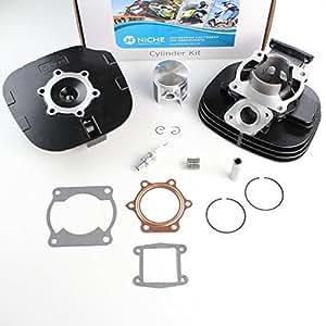 Amazon  NICHE Cylinder Piston    Gasket    Cylinder Head Kit