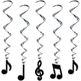 Musical Note Whirls (5/Pkg) (3-pack)
