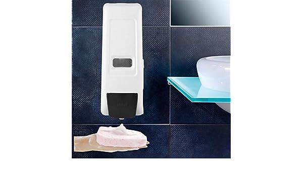 Amazon.com: Gold Happy 600ml Foam Soap Dispenser dispensador de jabon Bathroom Wall Mounted Manual Foam Soap Liquid Dispenser Lotion Shampoo Box Holder: ...