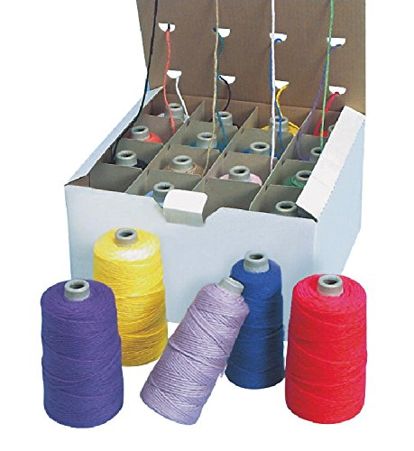 Sax Doubleweight Yarn in Dispenser Box - Set of 16 - Assorted Colors
