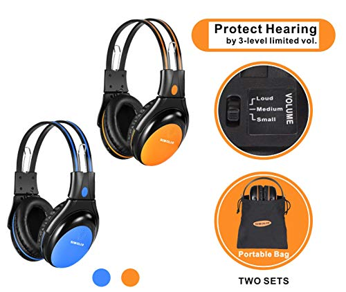 Best infrared headphones for car dvd player list