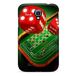 Premium Casino Dices Back Cover Snap On Case For Galaxy S4