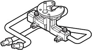 316572100 Range Twin Surface Burner Igniter and Orifice Holder Genuine Original Equipment Manufacturer (OEM) Part